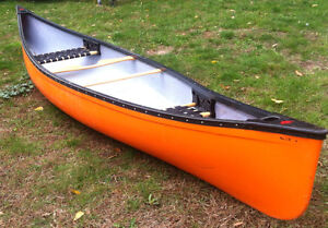 1 yr old 16 ft, Canoe with lower price London Ontario image 6