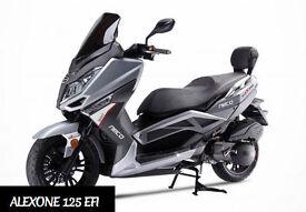 Neco Alex One 125 EFI. Scooter