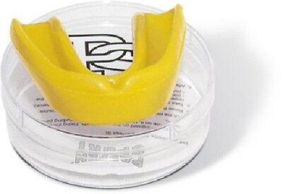 Paffen Sport- ALLROUND Mint. Mundschutz. gelb. Boxen. Muay Thai. mit Geschmack