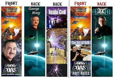 George Noory Book Bookmark Coast To Coast Am Radio Host Art Bell