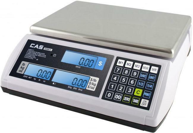 CAS S-2000 S2JR60L JR SCALE WITH LCD