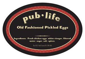 Pub Life Old-Fashioned Pickled Eggs