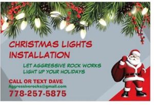 Christmas light installations and more