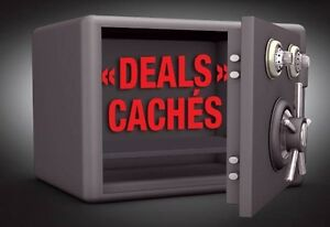 *** DEALS CACHÉS Non MLS ! ***