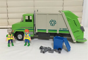 Playmobil Recycle Truck and figures