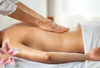 Relaxing massage treatment - table shower special at Markham