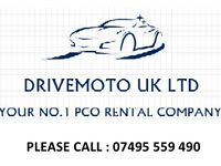 PCO CAR HIRE - TOYOTA PRIUS - HONDA INSIGHT/CIVIC - VAUXHALL ZAFIRA/INSIGNIA - VW PASSAT - PCO HIRE