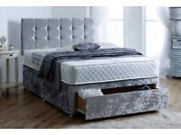 🔴🔵CLEARANCE SALE ENQUIRE FOR PRICES LUXURY DIVAN BEDS WITH MATTRESS FREE NATIONWIDE DELIVERY 🔴🔵