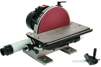DELTA 31-140 12-in Disc Sander with Integral Dust Collection  NEW on Rummage