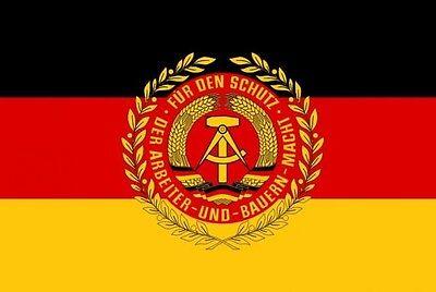 Fahne Flagge DDR NVA Truppenfahne 90 x 150 cm