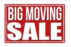 MOVING SALE  !  EVERYTHING MUST GO  !