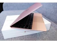 Apple Mac book 12'' rose gold