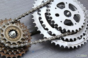 Wanted cheap bicycle gears and chains