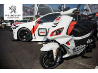 Peugeot Speedfight 4 125cc liquid cooled, R-CUP
