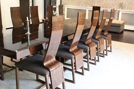 Dining Table with 12 Dining Chairs