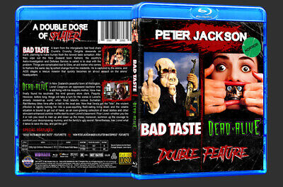Bad Taste / Dead-Alive Double Feature (Blu-Ray Disc) Cult Horror - Peter Jackson