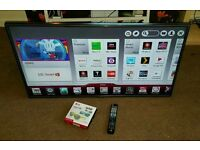 Lg 42 inch super slim line 3D smart WiFi new condition fully working with remote control