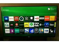 "Sony 50"" 3D Smart 1080P with built-in freeview HD and Freesat"