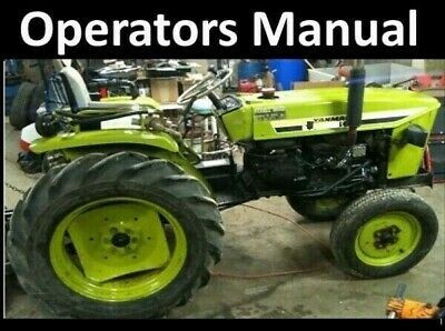 Yanmar Ym 135 Ym 240 Diesel Tractor Operators Manual Ym135 Ym135d Ym240 Ym240d