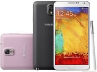 SAMSUNG GALAXY NOTE 3 32GB UNLOCKED MINT CONDITION COMES WITH WARRANTY & RECEIPT