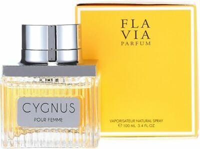 NEW FLAVIA CYGNUS POUR FEMME EAU DE PARFUM FOR WOMEN LIMITED EDITION - 100 ML