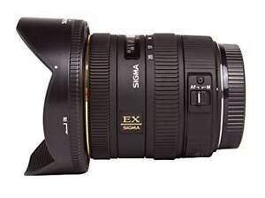 Sigma 10-20mm F4-5.6 Wide-Angle Lens