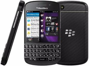 Blackberry q10 UNLOCKED MINT $80 FIRM