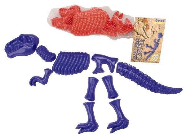 Toyrific 10 Piece Dinosaur Bones Sand Mould Set