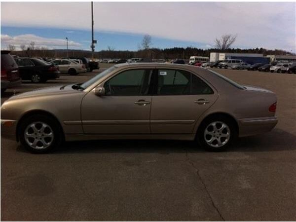 Used 2002 Mercedes-Benz E-Class
