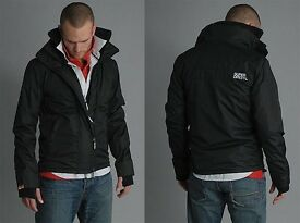 SuperDry Windcheater - Men's Jacket - Medium - Black