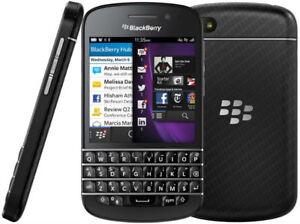 BLACKBERRY Q10-16gb,état neuf,Déverrouiller, WiFi,Facebook,GPS
