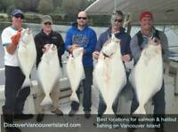 Salmon and Halibut fishing in British Columbia
