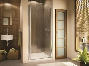 Porte de douche Sevilla NEUVE - NEW Sevilla clear shower door