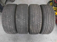 225/60R16 4x GM Rims With Summer Tires Thread Life 80%