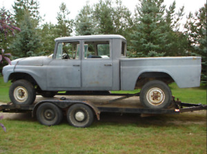 Looking for 1962-1968 International Harvester 4x4 Crew Cab