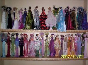 porcelain tassel dolls