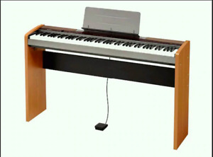 Casio Privia PX-100 piano w weighted keys, stand, peddles, etc.