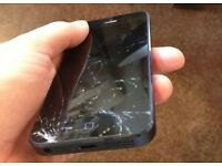Smashed iPhone 5s £25