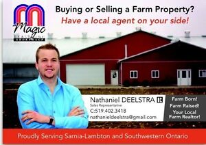 Buying or Selling a Farm? Have a local agent on your side!