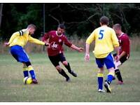 Sunday league football team looking for centre back defender