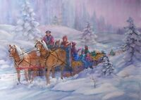 Sleigh ride wanted
