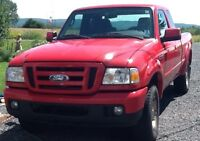 2006 Ford Ranger Extended Cab Truck,   Good Condition, new MVI