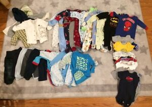 Boys 3-6 month & 6 month clothes
