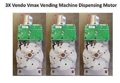 3x Vending Machine Motor Vendo Vmax Motor For Pepsi Coke Soda Machine