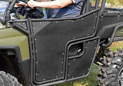 Super ATV Black R-Series Doors Polaris Ranger 800 Full-Size
