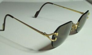 AUTHENTIC CARTIER SCALA FRAME-LESS SUNGLASSES