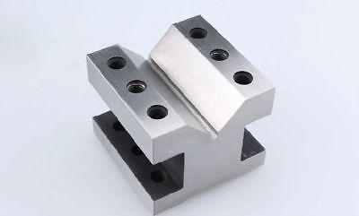 Precision V Blocks Clamp Tool Gauge V-blocks Set Workholding 606050mm