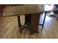 Beautiful vintage drop leaf table