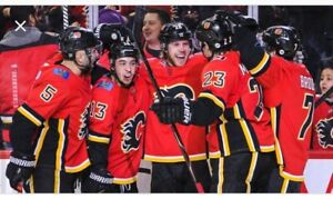 Flames tickets  for tonight! April 19