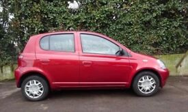 Toyota Yaris 1.2 VVTI COLOUR COLLECTION petrol, low Tax, low Insurance